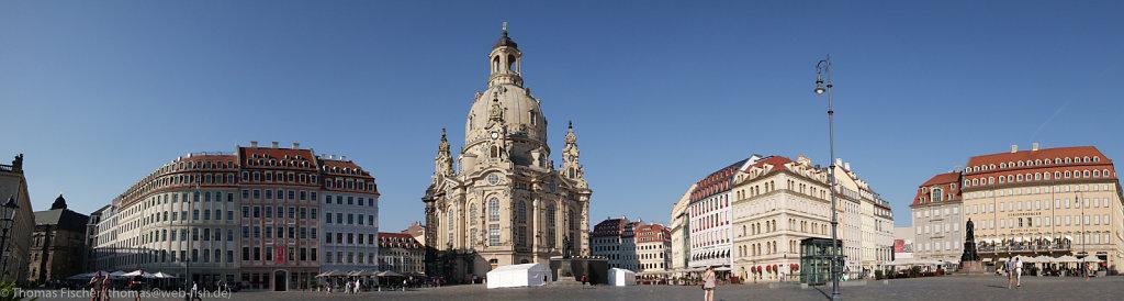 Panorama Frauenkirche Dresden